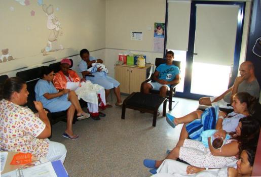 Ocho de cada diez madres participan en el programa de formación y capacitación de madres lactantes.