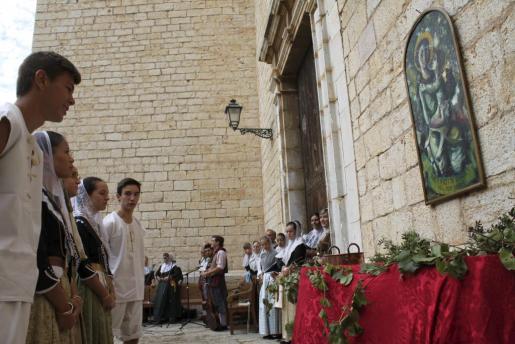 Las fiestas de Binissalem siempre reciben miles de visitantes.