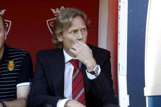 Valeri Karpin, entrenador del Real Mallorca.