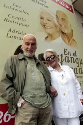 Los actores Lola Herrera y Héctor Alteiro protagonizan esta obra.