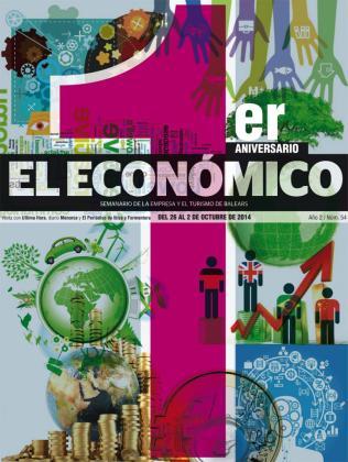 Portada de El Económico es su primer aniversario.