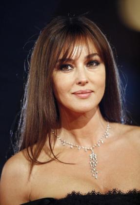 Monica Bellucci, actriz italiana.