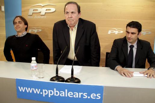 José María Rodríguez (centro), declarará el viernes como testigo en el 'caso Andratx'.