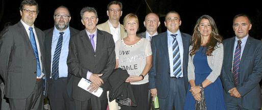 Carmelo Fernández, Jaime Ochogavía, Tomás Cortés, Javier Piña, María Esperanza Cifre, Carlos Moyá, Jaime Fornés, Mónica Cañellas y Antonio Mateos.