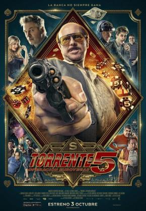 Póster de Torrente 5.