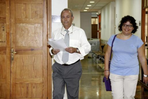El juez José Castro antes de tomar declaración a diversos testigos del caso Ópera.