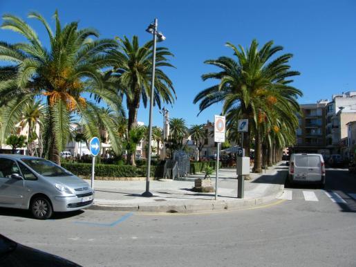 La reforma de la Plaça d'Espanya de Felanitx prevé quitar aparcamientos y realizar una serie de mejoras.