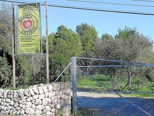 La empresa gestionaba un 'paintball' en Sineu, que cerrá en 2008.