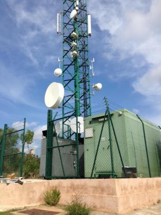 La avería en los generadores que alimentan la Televisión Digital Terrestre (TDT), en el centro receptor de Son Corb.