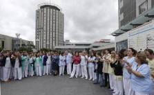 TRABAJADORES DE LA PAZ PIDEN LA DIMISIÓN DE ANA MATO E IGNACIO GONZÁLEZ