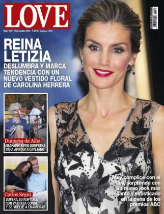La revista Love publica las fotos de Carlos Seguí junto a una joven.