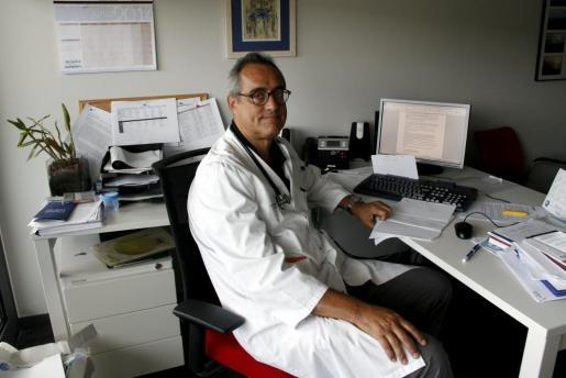 Sión Riera, jefe de la Unidad de Infecciosos de Son Espases.