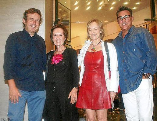 Mariano Mayol, Joana Maria Roman, Paloma Alonso y Esteban Revert.