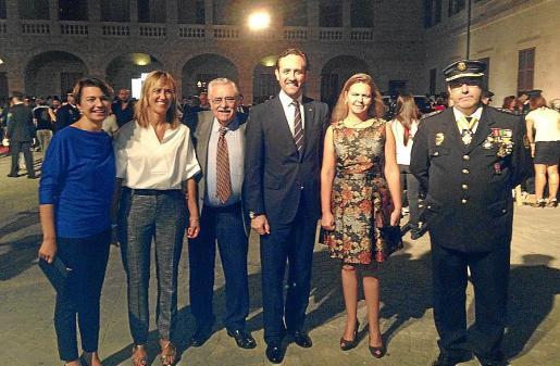 Margalida Duran, Teresa Palmer, Pere A. Serra, José Ramón Bauzá, Maria Salom y Antonio Jarabo.