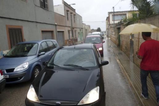 Diariamente se crean problemas de tráfico en los accesos al IES Manacor desde estas dos zonas del municipio.