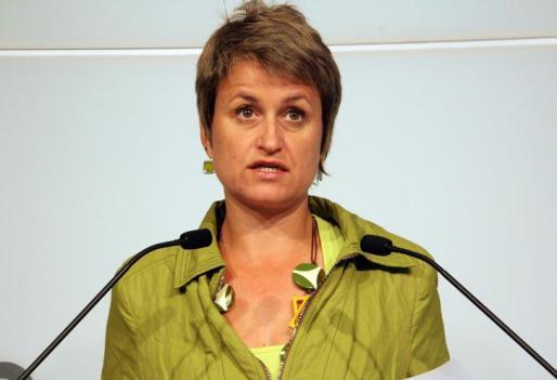 La portavoz de ERC, Anna Simó.