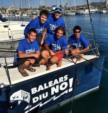 La tripulación del CN Sant Antoni