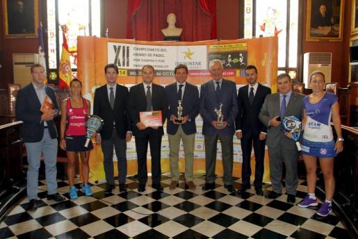 Presentación del Campeonato del Mundo de Pádel en Cort.