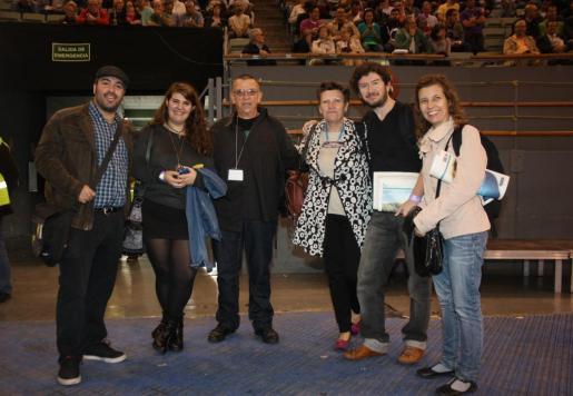 Un grupo de la delegación balear que está en Madrid.