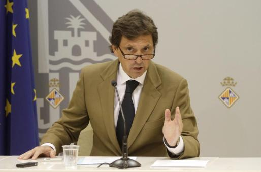 Mateu Isern, alcalde de Palma.