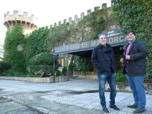 Imagen de archivo de Tolo y Miquel Matamalas, que pusieron a la venta el Foro de Mallorca en diciembre de 2013 por 980.000 euros.
