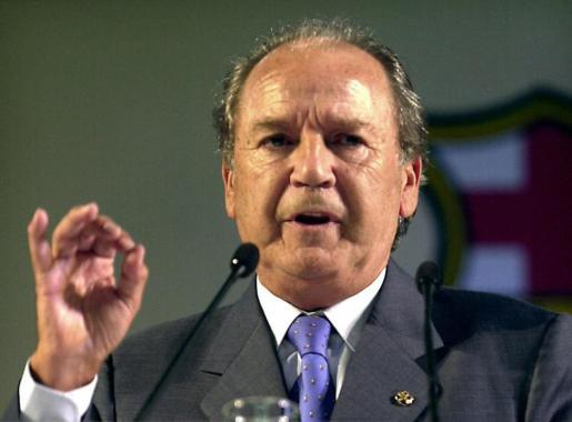 Fotografía de archivo fechada el 11/07/2000 del ex presidente del FC Barcelona José Luis Núñez.
