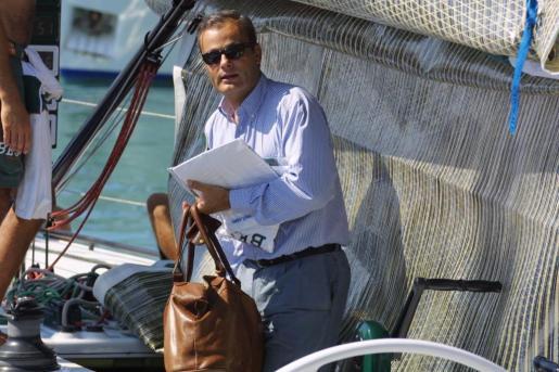 El empresario Javier Merino.