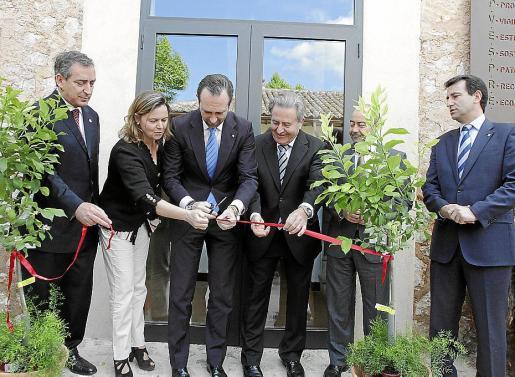 José Ramón Bauzá inauguró en 2013 el centro de interpretación agraria y cultural de la Serra de Tramuntana Capvespre.