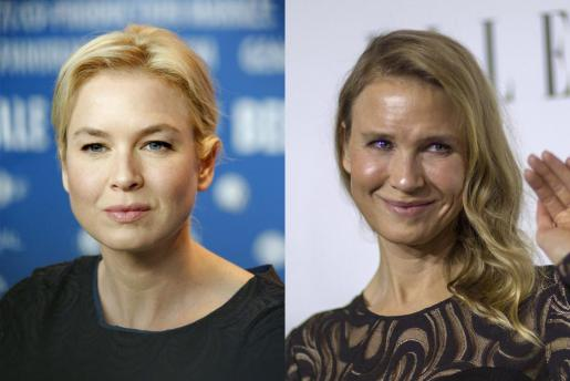 Dos imágenes bastante distintas de la actriz.