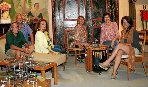 Salvador Anguera, Pepe Forteza, Marieta Salas, Zoe Rock, Ana Moyá y Paloma Escudero.