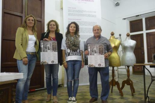 Momento de la presentación de 'l'Any dels Brodats', que contará con exposiciones que se podrán ver en la Rectoria.