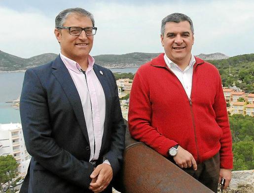 Llorenç Suau y Jaume Porsell quieren optar a la Alcaldía de Andratx.