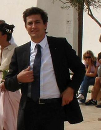 Imagen de archivo de Oleguer Pujol, durante su boda en Formentera.