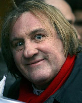 El actor Gérard Depardieu.