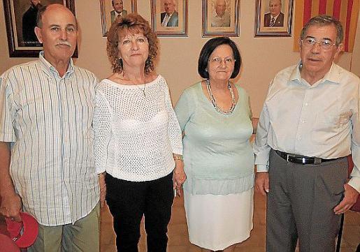 Lorenzo Márquez, Catalina Pol, Antònia Pol y Antonio Mulet.