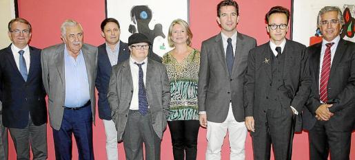 Joan Rotger, Pere A. Serra, Óscar Mayol, Teo Punyet, Núria Riera, Fernando Gilet, Joan Punyet y Rogelio Araújo.