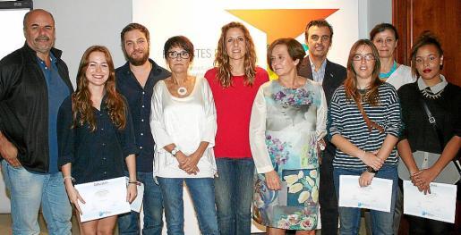 Rafel Vaquer, Jetro Conti, Deneb Alonso, Irene Mestre, Celia Torres, María Abando, Antoni Vera, María Alemany, Carmen Estivill y Emma Nguema.