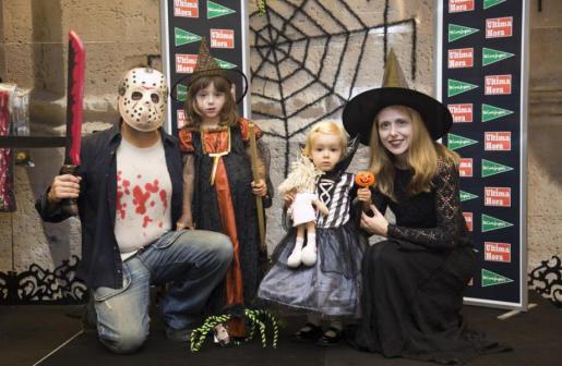 Imagen correspondiente a la anterior edición del concurso de disfraces de Halloween.