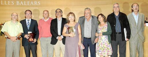 Lleonard Muntaner, Joan Rotger, Pere Muntaner, Antonio Planas, Carme Simó, Pere A. Serra, Margalida Capellà, Damià Pons y Manuel Ripoll.