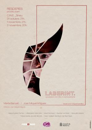 Cartel de la obra 'Laberint'.