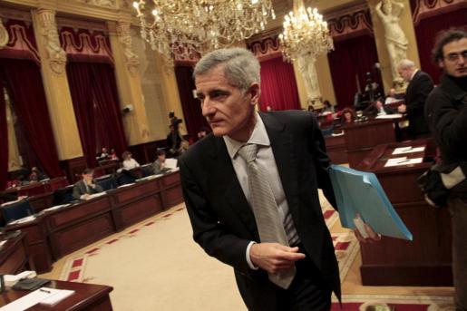 Bartomeu Vicens exigió al Pacte qeu respetase una enmienda pactada hace semanas.