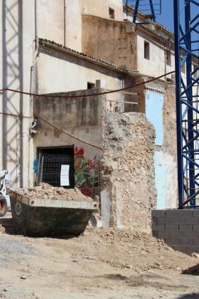 La empresa Dragados-Coexa se encarga de las obras del Teatre Principal de Inca.