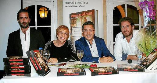 Carlos Prieto, Celia Velasco, Carlos Durán y Martín Garrido.
