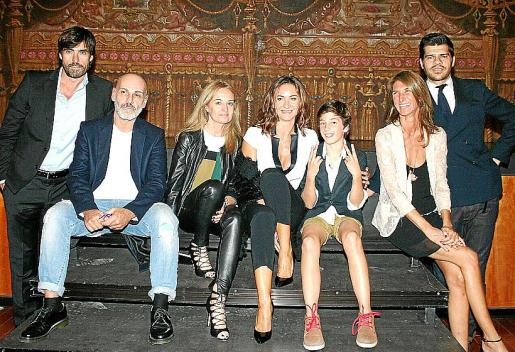 Rodrigo Martínez, Emilio Danielle Botti, Sandra Horrach, Cristina Muñoz, Lucas Maestro, Elvira Ferrer y Nicola Ghelfi.