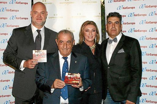 Erick Jonsson, Juan José Hidalgo, María José Hidalgo y Pepe Link.