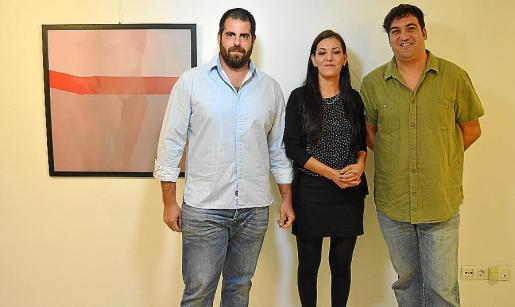 Miquel Jaume Planas, Raquel Mayol y Alexis Aliau.