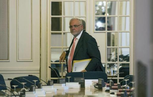 El presidente de Les Corts Valencianes, Juan Cotino, en una imagen de archivo.