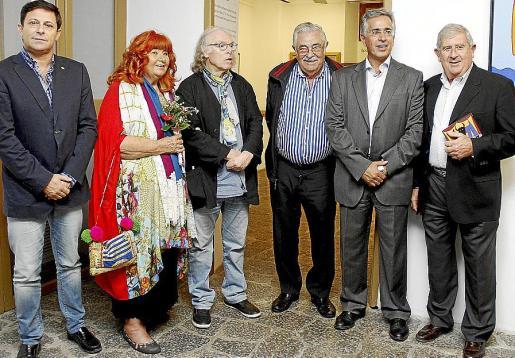 Oscar Mayol, Regina Peñalver, Gustavo Peñalver, Pere A. Serra, Rogelio Araújo y Joan Albertí.