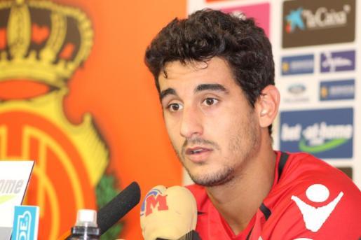 El jugador del Real Mallorca Pau Cendrós.
