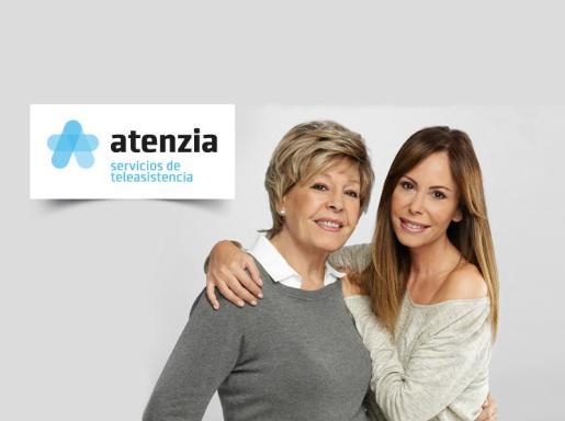 Laura Valenzuela y Lara Dibildos, imagen de la nueva marca de atenzia.